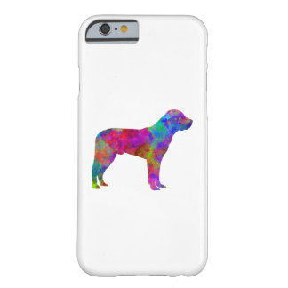 Great Swiss Mountain Dog in watercolor Barely There iPhone 6 Case