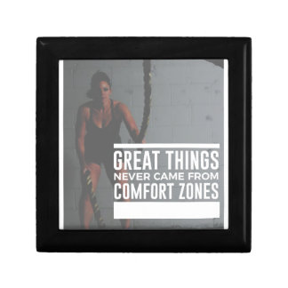 Great Things Never Came From Comfort Zones Gift Box