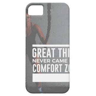 Great Things Never Came From Comfort Zones iPhone 5 Case