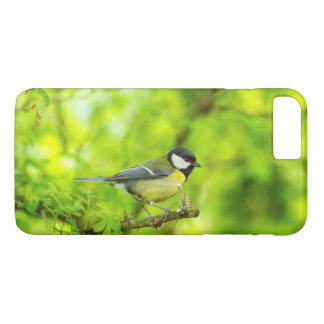 Great tit, parus major iPhone 8 plus/7 plus case