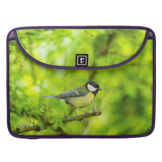 Great tit, parus major sleeves for MacBooks