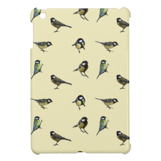 Great tit pattern cover for the iPad mini