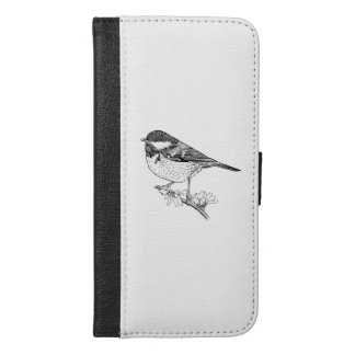Great Tit Wallet Phone Case, British Bird