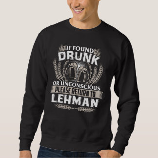 Great To Be LEHMAN T-shirt