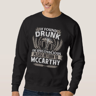 Great To Be MCCARTHY T-shirt