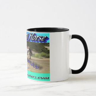 Great trail horse World Champion logo cup
