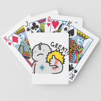 Great!! Ultraman Doodle Bicycle Playing Cards