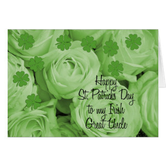 Great Uncle  Happy St. Patrick's Day Greeting Cards