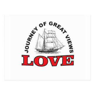 great view of love postcard