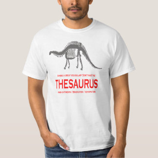 Great Vocabulary Didn't save the Thesaurus T-shirt