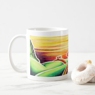 Great Wall by Blaise Gauba Coffee Mug