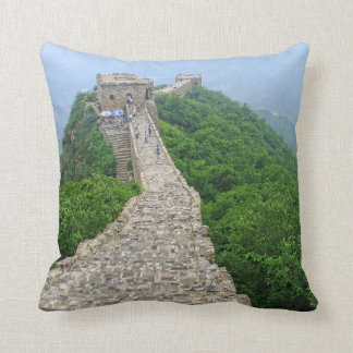 Great Wall China Throw Pillows