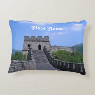 Great Wall in China Accent Pillow