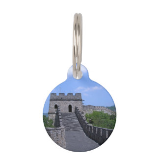 Great Wall in China Pet ID Tags
