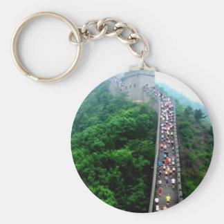 Great Wall Marathon Shanghaiist Basic Round Button Keychain