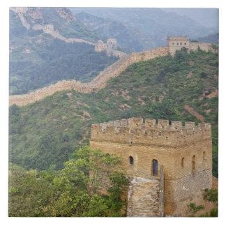 Great Wall of China at Jinshanling, China. 2 Ceramic Tiles