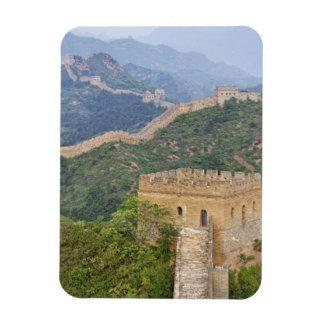 Great Wall of China at Jinshanling, China. 2 Rectangular Magnet