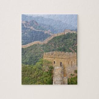 Great Wall of China at Jinshanling, China. 2 Puzzles