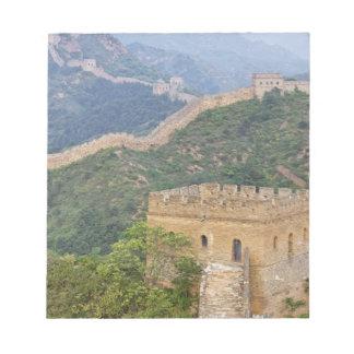 Great Wall of China at Jinshanling, China. 2 Scratch Pad