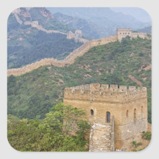 Great Wall of China at Jinshanling, China. 2 Stickers