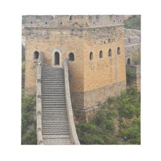 Great Wall of China at Jinshanling, China, Asia 2 Note Pad