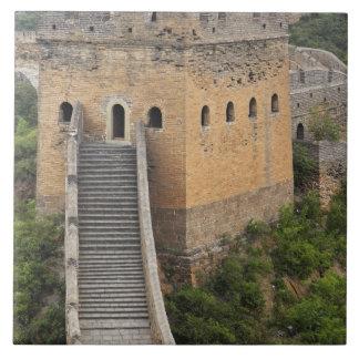 Great Wall of China at Jinshanling, China, Asia 2 Tile