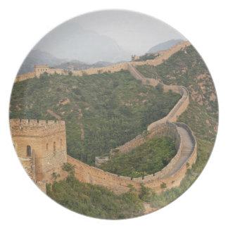 Great Wall of China at Jinshanling, China, Asia Plates