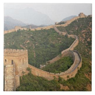 Great Wall of China at Jinshanling, China, Asia Tiles
