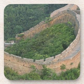 Great Wall of China at Jinshanling, China. Drink Coaster