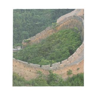 Great Wall of China at Jinshanling, China. Scratch Pads