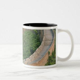 Great Wall of China at Jinshanling, China. Two-Tone Coffee Mug