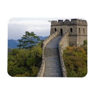 Great Wall of China at Mutianyu 3 Rectangular Photo Magnet