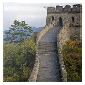 Great Wall of China at Mutianyu 3 Tile