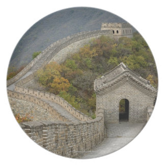 Great Wall of China at Mutianyu Dinner Plates