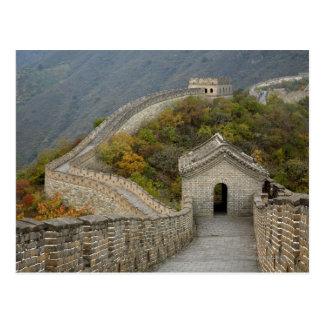 Great Wall of China at Mutianyu Postcard