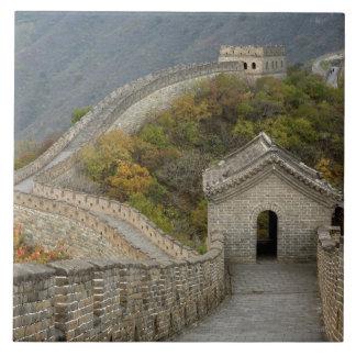 Great Wall of China at Mutianyu Tiles