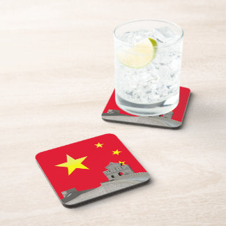 Great Wall of China Beverage Coaster