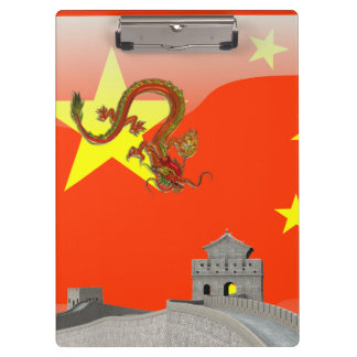 Great Wall of China Clipboard