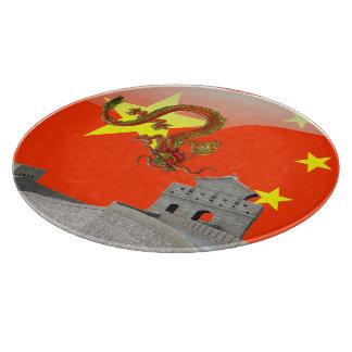 Great Wall of China Cutting Board