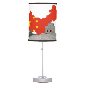 Great wall of China Desk Lamps