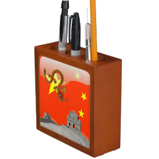 Great Wall of China Desk Organizer