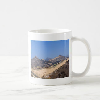 Great Wall of China in winter Coffee Mugs