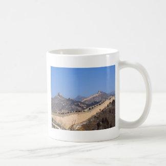 Great Wall of China in winter Coffee Mugs