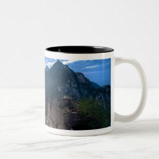 Great Wall of China, JianKou unrestored section. 2 Two-Tone Coffee Mug
