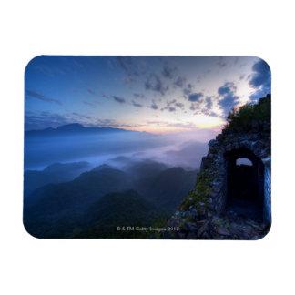 Great Wall of China, JianKou unrestored section. 3 Rectangular Photo Magnet