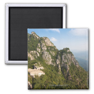 Great Wall of China, JianKou unrestored section. 6 Square Magnet