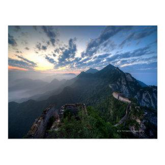 Great Wall of China, JianKou unrestored section. 8 Postcard