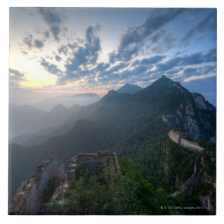 Great Wall of China, JianKou unrestored section. 8 Ceramic Tile