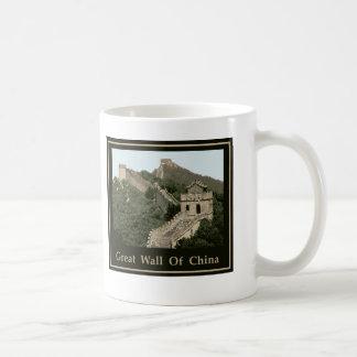 Great Wall Of China Coffee Mugs