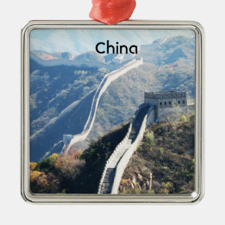 Great Wall of China Christmas Tree Ornament